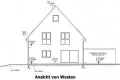 Ansicht-Westen